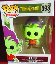 "BRAND NEW POP ANIMATION, NETFLIX' ""DISENCHANTMENT"", #593, ELFO    IN HAND - $11.87"
