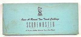 Drueke Scoremaster #1150 Once-A-Round Two Track Cribbage Board 15 Pegs - $31.99