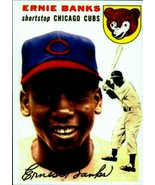 Lot of 5 1954 Topps #94 Ernie Banks rookie reprint cards Chicago Cubs mint - $5.94