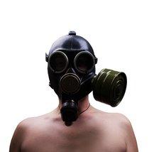 Gas mask. Gasmask. Russian gas mask. Soviet gas mask Scary mask Gp7k Siz... - $39.00