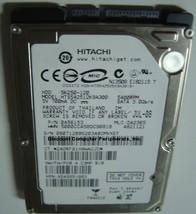 """120GB 2.5"""" SATA II HTS542512K9A300 Hitachi 9.5mm 5400RPM Hard Drive Test... - $17.59"""