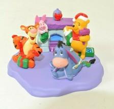 Hallmark Merry Minatures - Christmas at Pooh's House - 1999 - Set of 4 - $8.99