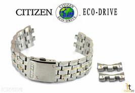 Citizen Eco-Drive H570-S074924 Stainless Steel Two-Tone Watch Band Strap - $129.95