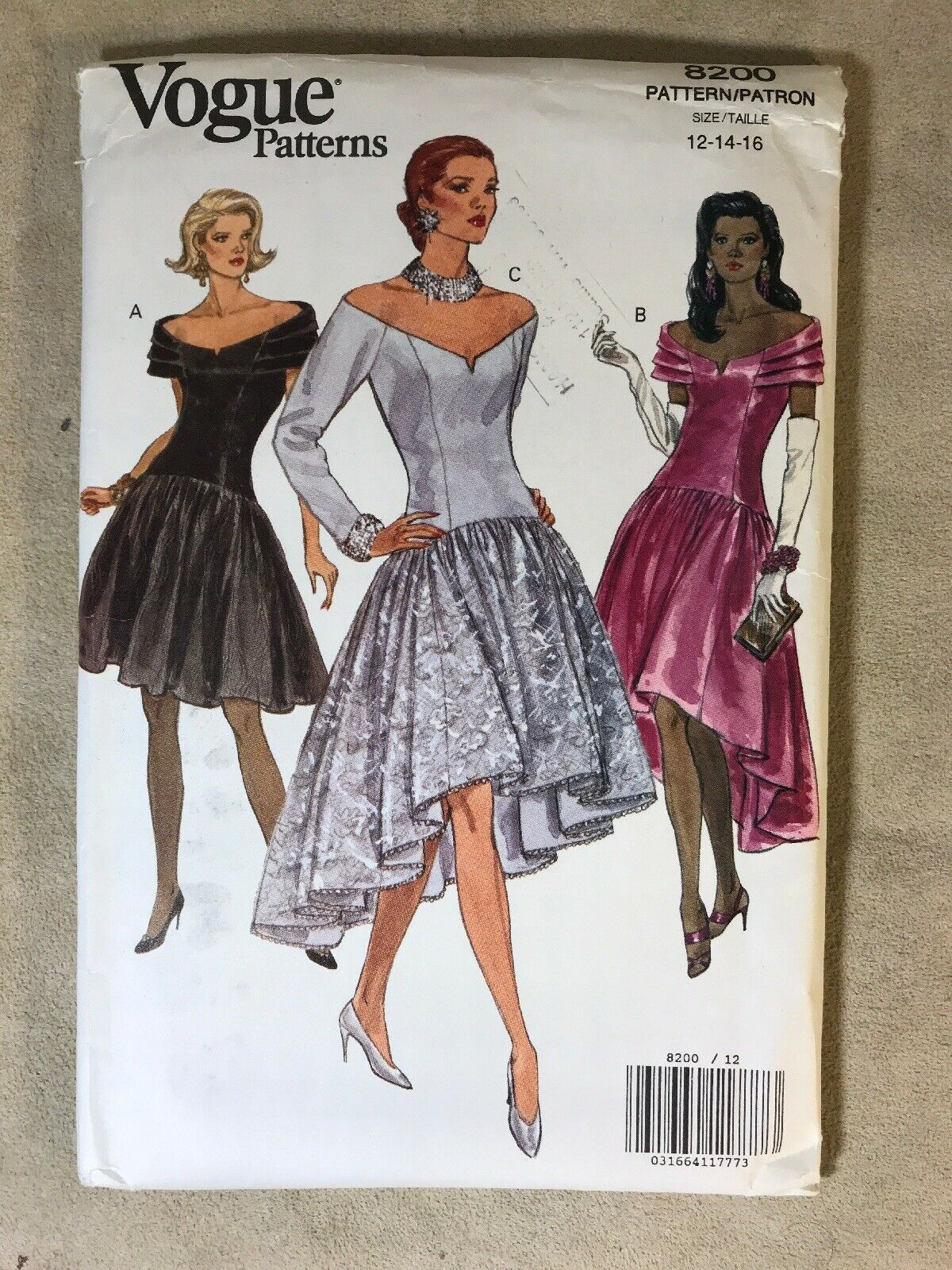 Primary image for Vogue 8200 Dress Sewing Pattern