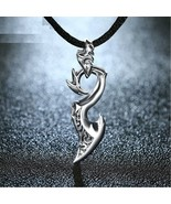 Men Dragon Wing Pendant 925 Silver Sterling Necklace Cool Hip Hop Punk J... - $35.99