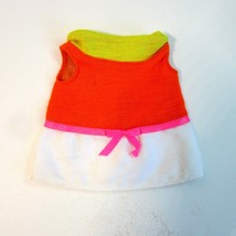 Vintage Original 1969 Mattel Baby Small Walk Doll Dress Only - $13.99