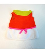 Vintage Original 1969 Mattel Baby Small Walk Doll Dress Only - $13.99
