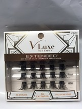 V LUXE EXTENDED DIY SALON LASH EXTENSION APPLICATIONDEMI EXTENDED KIT  VE02 - $7.87