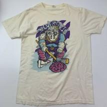 Silverstein Band Zombie Hockey T-Shirt Size XL Concert Tour Vintage Bay ... - $148.49