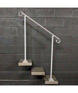 4 Foot Crown Molding Railing Handrail for Stairs | Base Plate Posts - $210.00