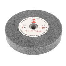 150mm Dia 25mm Thick 180 Grit Nylon Fiber Wheel Polishing Buffing Disc NEW - $21.73