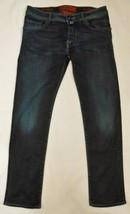 JACOB COHEN Men's Jeans 622 Button Fly Blue Handmade in Italy 33 tag/W 3... - $149.00