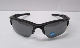 Oakley Men's Polarized Half Jacket OO9154-46 Black Semi-Rimless Sunglass... - $74.99