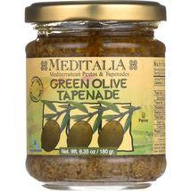 Meditalia Tapenade Spread - Green Olive - Case of 6 - 6.35 oz - $31.99+