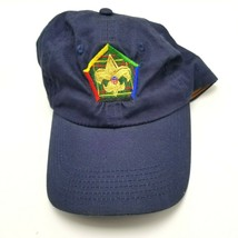 Wood Badge Boy Scout Scoutmaster Hat Strapback Blue  - $9.89