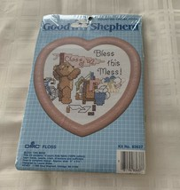 Brand New Good Shepherd 1988 Counted Cross Kit Bless This Mess 83637 Ted... - $11.49