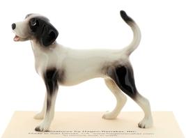 Hagen-Renaker Miniature Ceramic Dog Figurine Coon Hound image 1