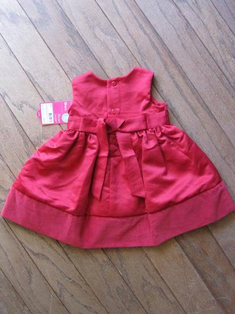 Carters dress toddler red 03