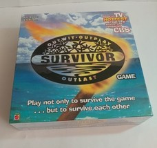 NEW! Survivor-Outwit, Outplay, Outlast Board Game 2000 Sealed Package!  - $19.28
