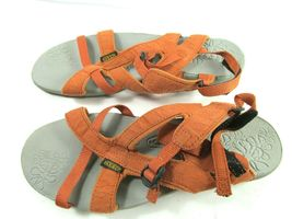 Keen Womens Orange Strappy Ankle Strap Sandals Size US 7.5  EUR 38 image 6