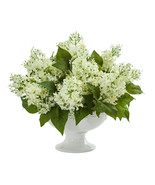 Lilac Artificial Arrangement in White Vase - $124.89