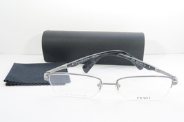 Prada Women's Silver Glasses with case VPR 68Q 75S-1O1 54mm - $76.95