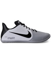 Men's Nike Air Behold Low Basketball Shoes, 898450 101 Size 8.5 White/Bl... - $79.95