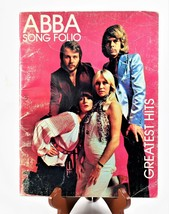 C.1975 ABBA Song Folio Book Greatest Hits Songs & Words Photos Signatures - $19.79