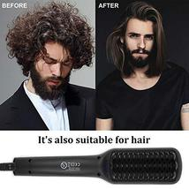Beard Straightener, MASWATER - Second Generation Beard Straightening Brush with  image 4