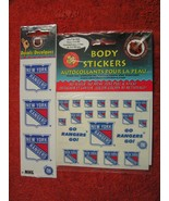 NHL Official Licensed Lot NY Rangers Sticker Decals & Body Stickers USA ... - $2.99