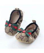 Newborn Canvas Baby Girls Toddler Shoes Soft Bottom Dress shoes G4680 - $16.99