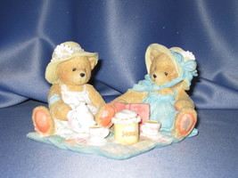 """Cherished Teddies Freda and Tina """"Our Friendship Is A Perfect Blend"""" Figurine. - $20.00"""