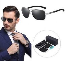 Besteel Mens Polarized Sunglassesc For Boys Ultra Lightweight Rectangular 400UV - $25.38