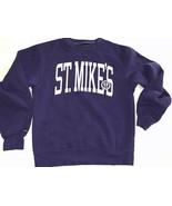 Vintage Mount St. Michael Sweatshirt Crew College Small St. Mike's - $28.49