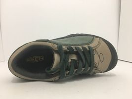 Keen Briggs Green Tan Leather Women's Lace Up Comfort Walking Shoes Size 5 M image 8