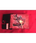 Red Deadpool  Bifold Wallet—More Movie  Character Wallets Available Too! - $12.47