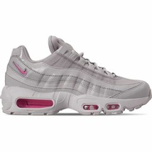Women's Nike Air Max 95 Special Edition Casual Shoes Vast Grey/Psychic P... - $122.88