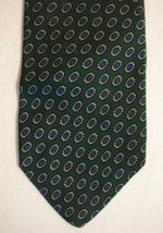 Brooks Brothers men's all silk geometric circles neck tie - $20.00