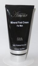 150 ml / 5.1 oz  Foot Feet Cream For Man Men Dead Sea Minerals Amour - $10.99