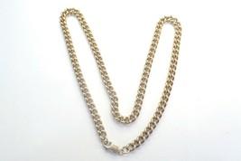 9ct 375 yellow gold chain curb 47cm 52.3 grams - $2,347.77
