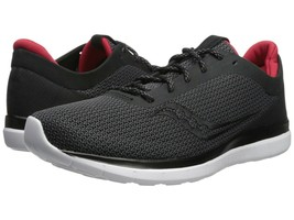 Saucony Men's Liteform Escape Running Shoes, S40018-1, Black\Charcoal,Si... - $46.18