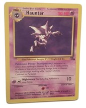 Pokemon Card - Haunter - (21/62) Fossil Set Rare Non Holo ***NM*** - $3.99