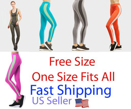 Leggings Yoga Pants High Women workout Trouserrs fintes Full Length Lot ... - $0.98+