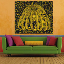 1 Pcs Modern Pumpkin By Yayoi Kusama Wall Picture Canvas Painting 24x28inch - $39.99