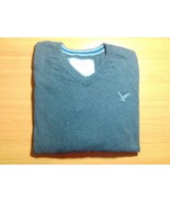 American Eagle Outfitters Sweater Size L Large Vintage Fit Gray Long Sle... - $17.05