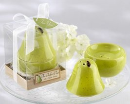 """""""The Perfect Pair"""" Ceramic Salt & Pepper Shaker - Baby Shower Gifts & We... - $242.76"""