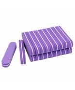 Nail Files Mini Nail Art Sanding Sponge Purple Pilnik Do Paznokci Buffin... - $6.80