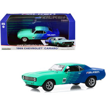 1969 Chevrolet Camaro #88 Falken Tires 1/43 Diecast Model Car by Greenlight 8634 - $24.99