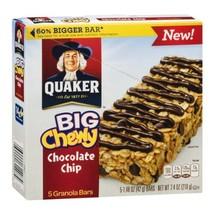 Quaker Big Chewy Chocolate Chip Granola Bars - 5 CT - $9.99