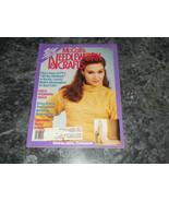 McCall's Needlework & Crafts Magazine February 1988 Brides Garter - $2.99